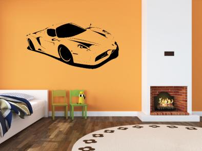 Samolepka na zeď - Ferrari