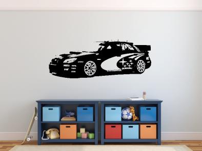 Samolepka na zeď - Subaru Impreza