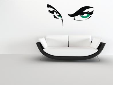 Samolepka na zeď - Oči