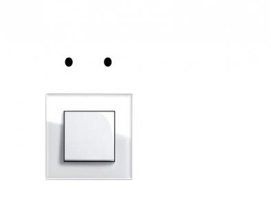 Samolepka na vypínač - pejsek