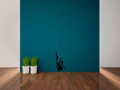 Samolepka na zeď - Tráva