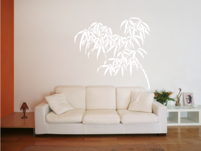 Samolepka na zeď - Bambus větev
