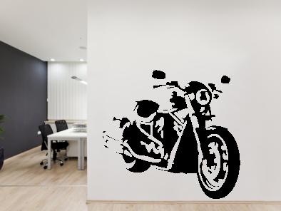 Samolepka na zeď - Harley