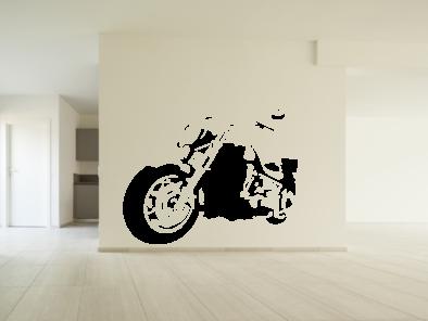 Samolepka na zeď - Harley v2