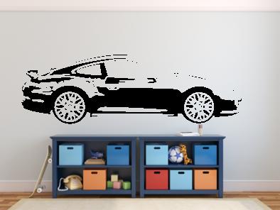 Samolepka na zeď - Porsche