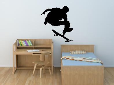 Samolepka na zeď - Skateboardista