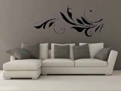 Samolepka na zeď - Ornament V4