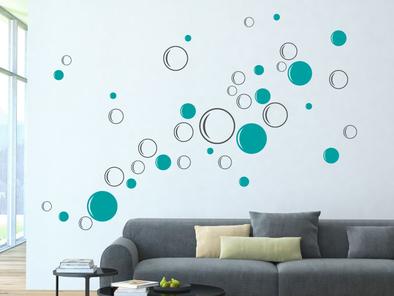 Samolepka na zeď - Bubliny