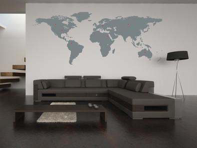 Mapa světa - výprodej