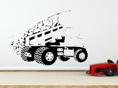 Samolepka na zeď - Nákladní auto