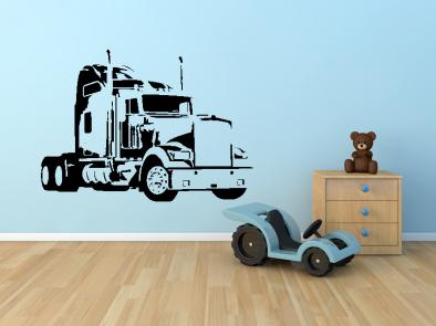 Samolepka na zeď - Kamion